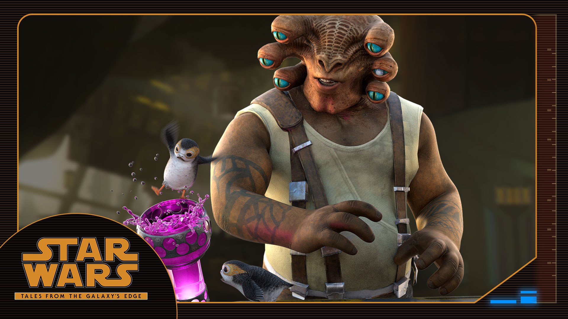 Seezelslak: Meet the Characters of Tales from the Galaxy's Edge
