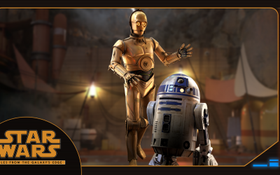 C-3PO and R2-D2: Meet the characters of Tales from the Galaxy's Edge