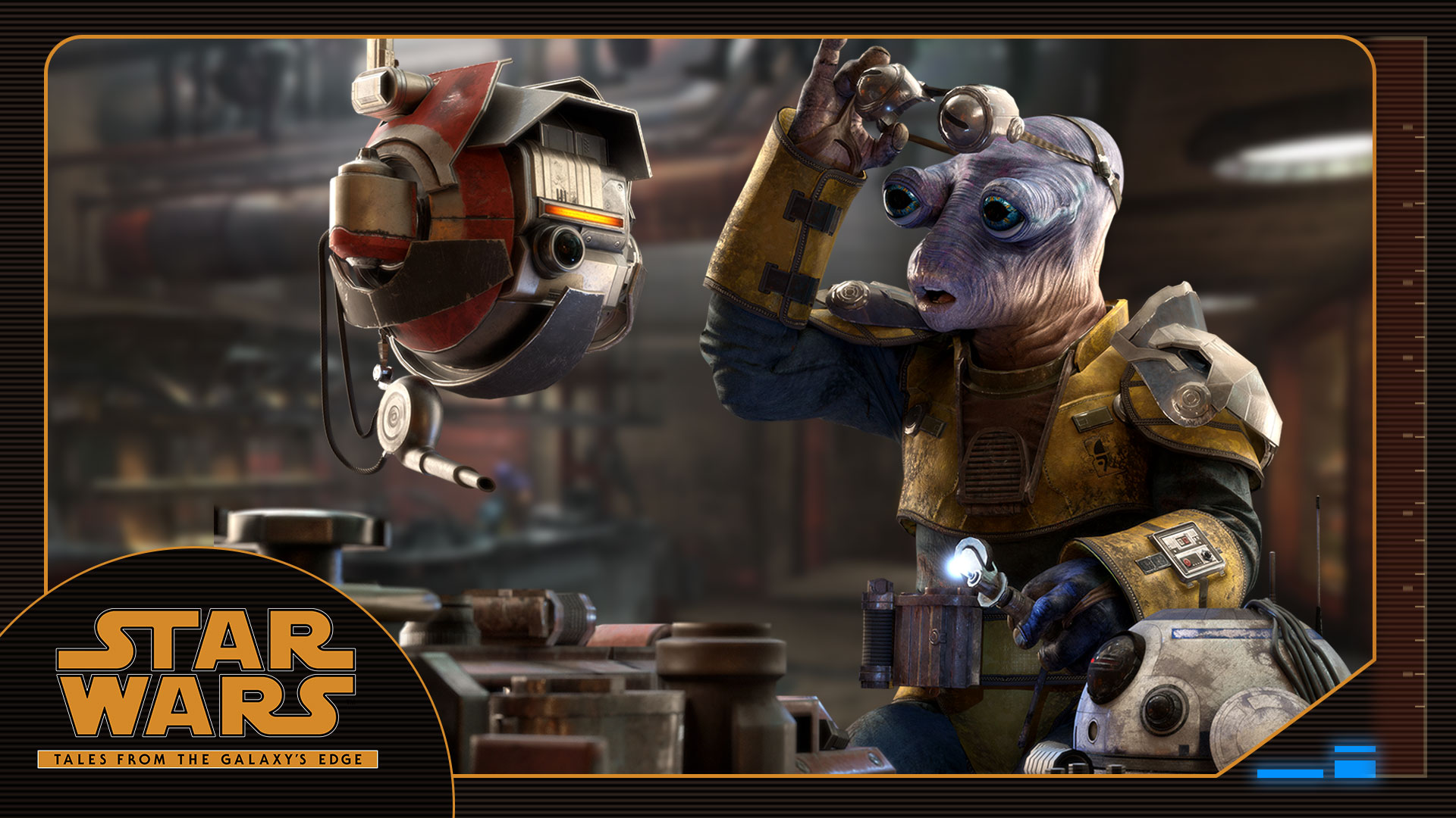 Mubo: Meet the Characters of Tales from the Galaxy's Edge