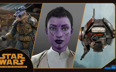 Making of Tales from the Galaxy's Edge – Part II: Creating New Characters and Familiar Faces