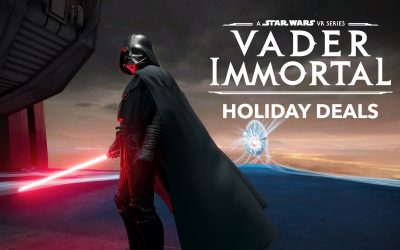 Special Holiday Deals on Vader Immortal: A Star Wars VR Series on Oculus Quest and PlayStation VR!