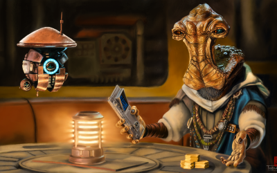 Dok-Ondar is Coming to Star Wars: Tales from the Galaxy's Edge – Part II