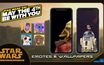 May the 4th Goodies: Wallpapers & Discord Emotes!