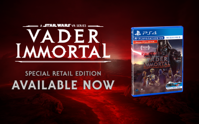 Vader Immortal Releases Physically for The First Time Ever!