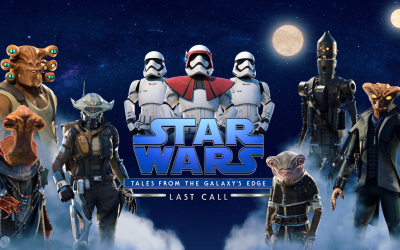 ILMxLAB Unveils Extended Gameplay Trailer and Characters for Star Wars: Tales from the Galaxy's Edge – Last Call, Launching September 15